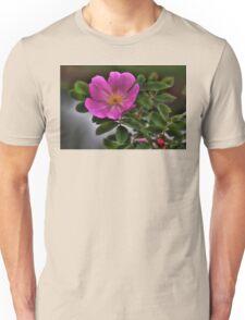 Prickly Wild Rose Unisex T-Shirt