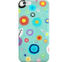Colorful Happy Circles iPhone Case/Skin