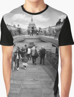 London Street Scene Graphic T-Shirt