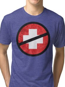 The Purge cross Tri-blend T-Shirt