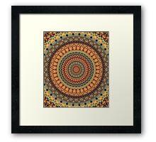Mandala 107 Framed Print