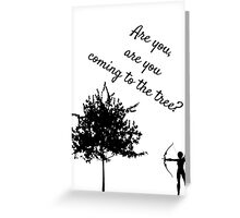 The Hunger Games, The Hanging Tree Greeting Card
