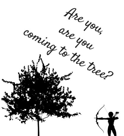 The Hunger Games, The Hanging Tree Sticker