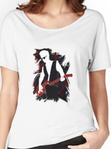 Twelfth Doctor - plus guitar Women's Relaxed Fit T-Shirt