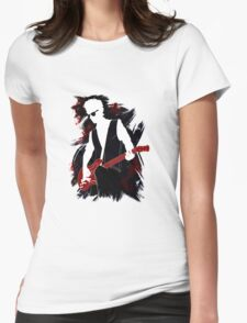 Twelfth Doctor - plus guitar Womens Fitted T-Shirt