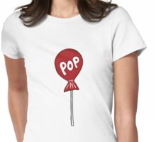 Candy Lollipop Womens Fitted T-Shirt