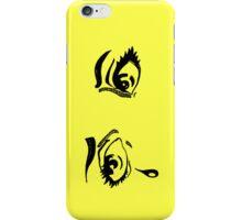 Hand Drawn Pop Art Eyes in Ink iPhone Case iPhone Case/Skin