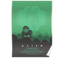 Ridley Scott's Alien Print Sigourney Weaver as Ripley Poster