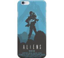 Ridley Scott's Aliens Print Sigourney Weaver as Ripley iPhone Case/Skin