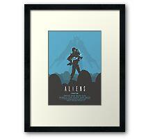Ridley Scott's Aliens Print Sigourney Weaver as Ripley Framed Print