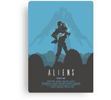 Ridley Scott's Aliens Print Sigourney Weaver as Ripley Canvas Print
