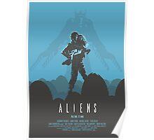 Ridley Scott's Aliens Print Sigourney Weaver as Ripley Poster