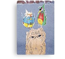 Unruly Roost Canvas Print