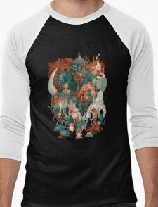 DS The Hood Men's Baseball ¾ T-Shirt