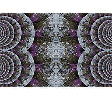 nature faces Photographic Print