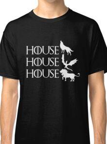 Game of Thrones - Stark - Targaryen - Lannister Classic T-Shirt