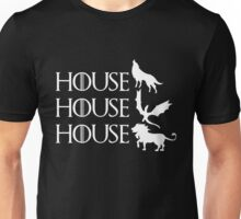 Game of Thrones - Stark - Targaryen - Lannister Unisex T-Shirt
