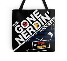 Gone Nerdin Podcast Logo Tote Bag