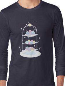 Starlight Teatime (Pale Blue) Long Sleeve T-Shirt