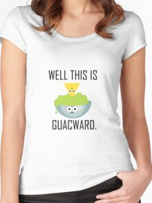 Well This is Guacward Women's Fitted Scoop T-Shirt