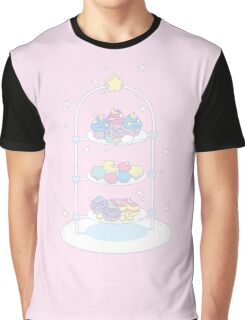 Starlight Teatime (Pastel Pink) Graphic T-Shirt