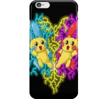 plusle and minun iPhone Case/Skin