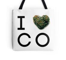 Colorado Green State Tote Bag