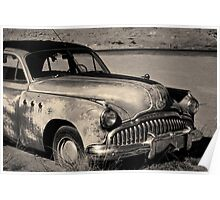 1949 Buick Eight Super I Toned Poster