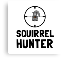 Squirrel Hunter Canvas Print
