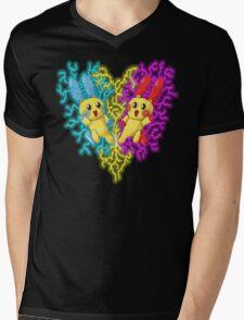 plusle and minun Mens V-Neck T-Shirt