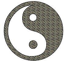 Yoga Buddha Style Photographic Print