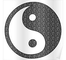 Yoga Buddha Style Poster