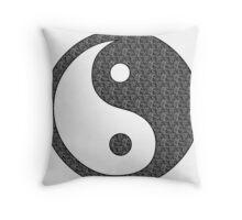 Yoga Buddha Style Throw Pillow