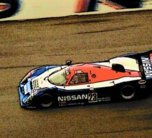 Nissan IMSA GTP at Daytona 24 Hrs 1990's Sticker
