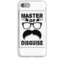 Master of Disguise Mustache iPhone Case/Skin