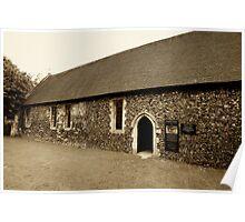 Duxford Chapel Poster