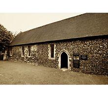 Duxford Chapel Photographic Print