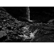 Follow Me Down to the Waterfall Photographic Print