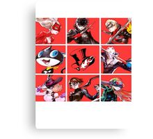 Thieves Team Canvas Print