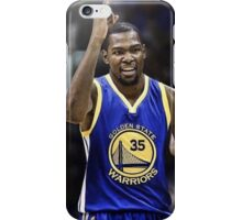 Kevin Durant Warriors case/shirt iPhone Case/Skin