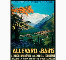 Allevard Les Bains, French Travel Poster Unisex T-Shirt