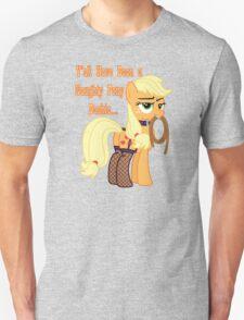 whos a naughty pony T-Shirt