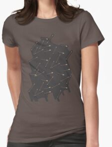Arrows: 2 Womens Fitted T-Shirt