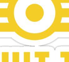 Fallout Vault-Tec Logo Sticker