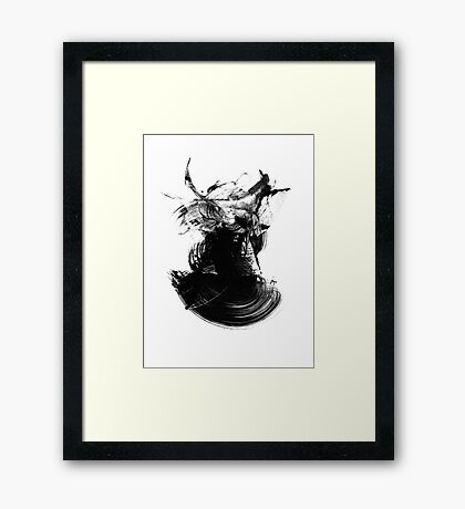Abstract 140901 Framed Print