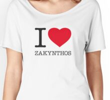 I ♥ ZAKYNTHOS Women's Relaxed Fit T-Shirt