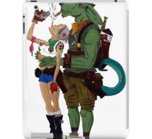 Tank Girl..smokin'!!! iPad Case/Skin