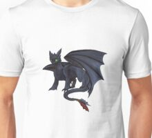 Toothless w/ Copics Unisex T-Shirt