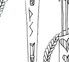 CROSSBOW - viking dream weaponry -  Sticker