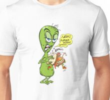 Alien Bored And Hungry Unisex T-Shirt